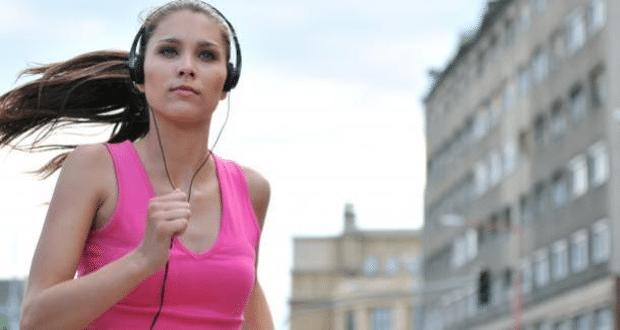 A música melhorando seu treino