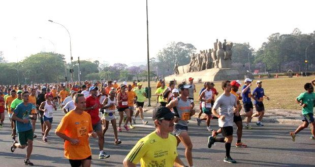 25 km na Maratona de São Paulo 2014
