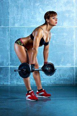 treino de perna  exercício stiff