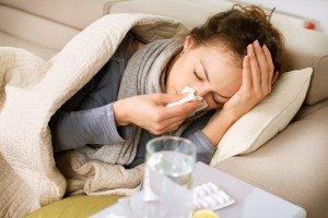 doenças gripe e o treino