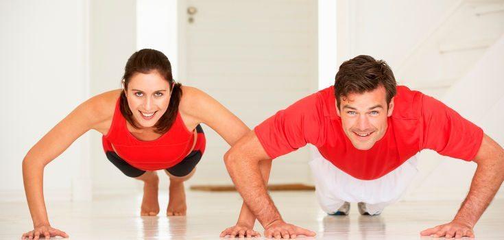 Exemplos de treinos – para casa, parque e academia!