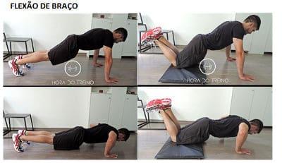planilha exemplo de exercícios
