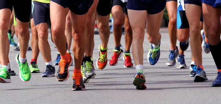esforço físico de uma maratona