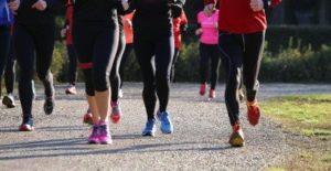 estresse de uma maratona