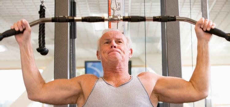 Atividades físicas para idosos - benefícios do treino para terceira idade
