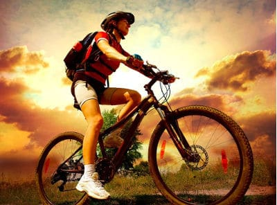 Postura para pedalar