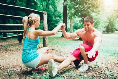 treinar em dupla