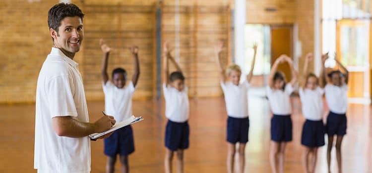 Educação Física área de atuação escolar