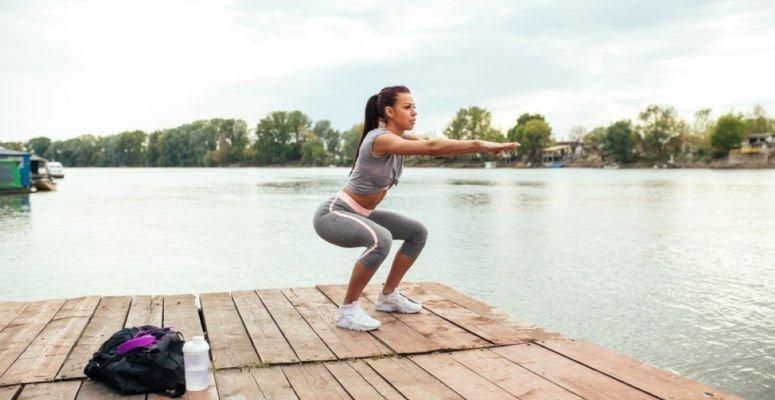desafio de treino para perna