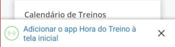 download hora do treino android