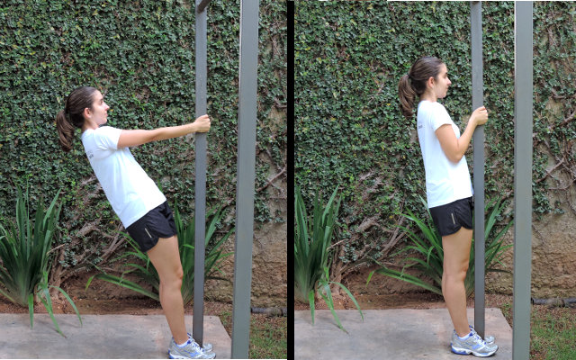 exercício em casa para costas