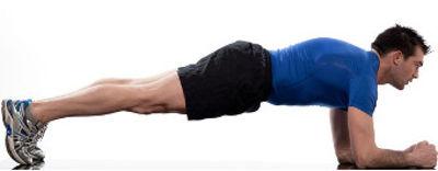 Como fazer o exercício prancha