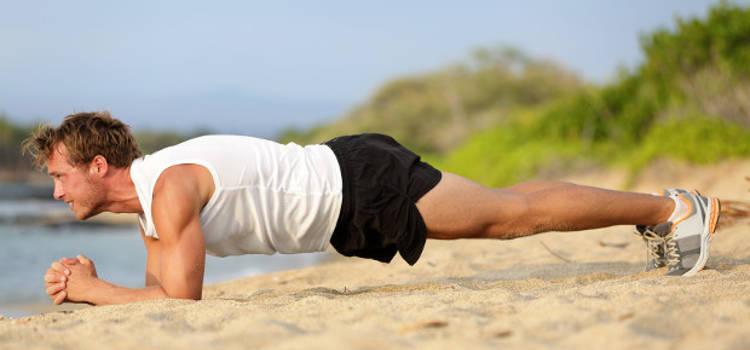 exercício prancha